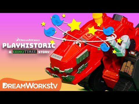 Dinotrux Ty Rux Loses His Mind! | Dinotrux Presents PLAYHISTORIC
