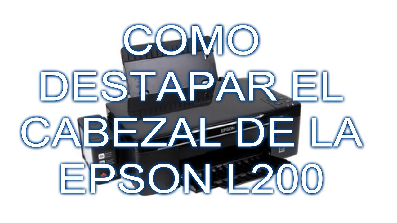 limpieza de cabezal epson l200 desarmar emsamble parte 1 youtube rh youtube com Impressora Epson Stylus manual da impressora epson l200