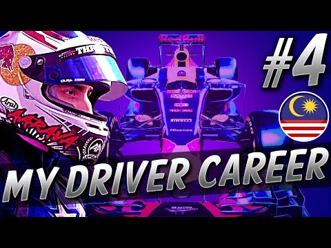 BATTLING TILL THE LAST LAP! - F1 MyDriver CAREER S4 PART 4: MALAYSIA