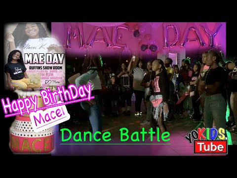 Macei- BadKid Macei Birthday Party| Dance Battle - Hosted By Young Twez The Artist (Pt.3)
