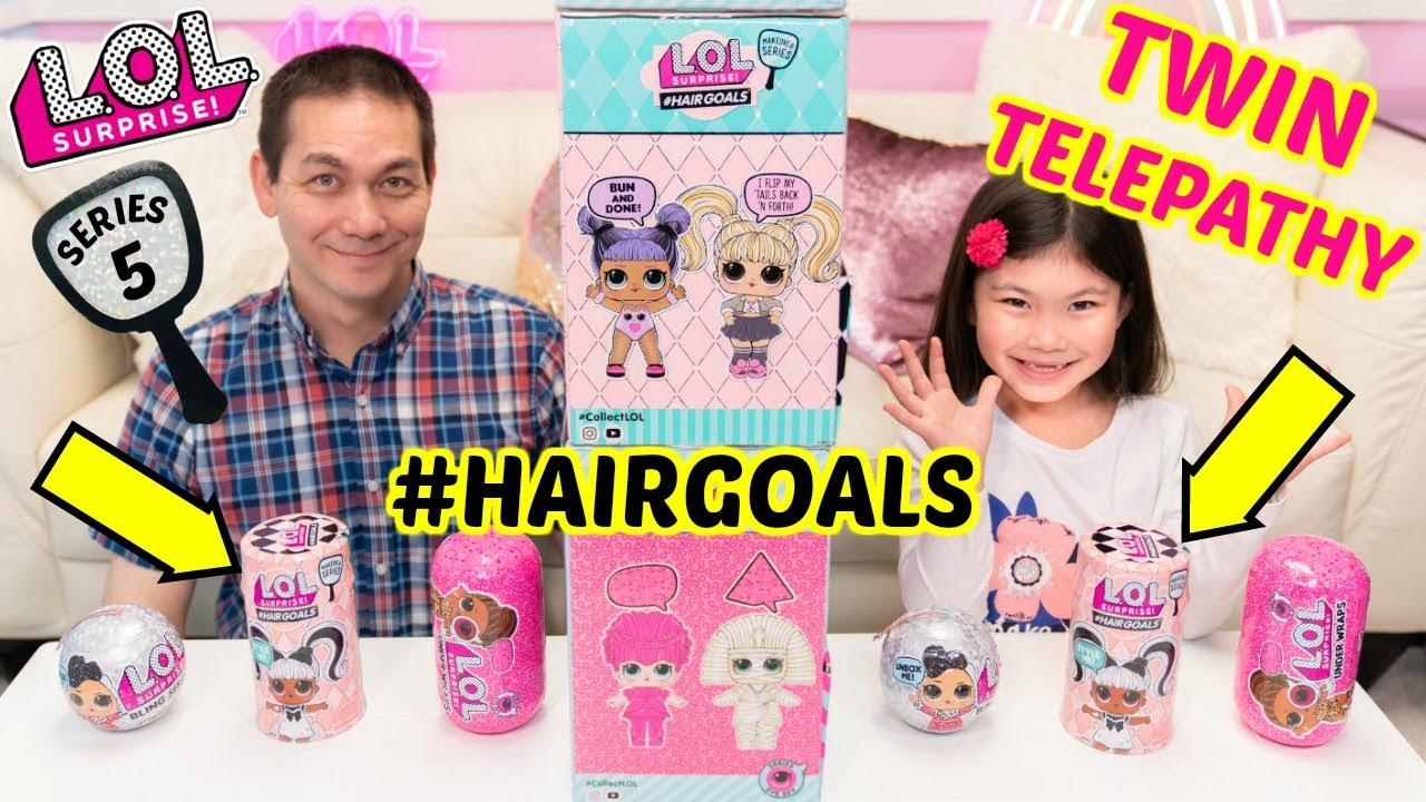 Lol Surprise Hairgoals Twin Telepathy Challenge Series 5