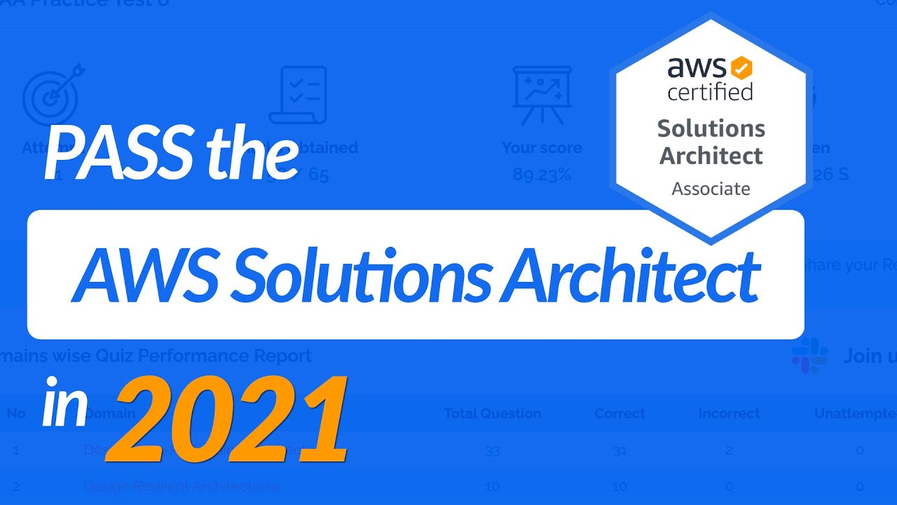 Pass the AWS Solutions Architect in 2021 | Exact Resources To Use