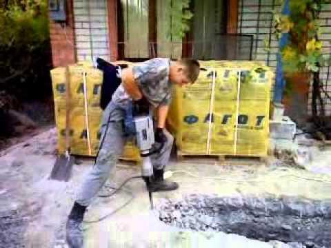 Чем разбить бетон астрахань заказ бетона