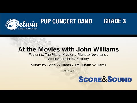 At the Movies with John Williams, arr. Justin Williams - Score & Sound