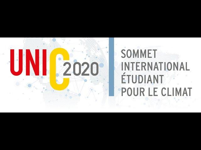 Sommet international étudiant pour le climat UniC2020 - Appel de candidature