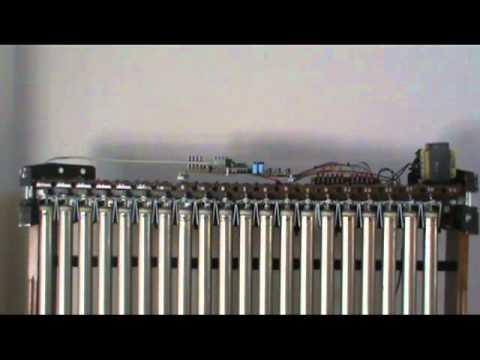 Vintage Deagan MIDI chimes, Christmas music test 1