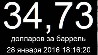 Курс доллара 28 января 2016 онлайн