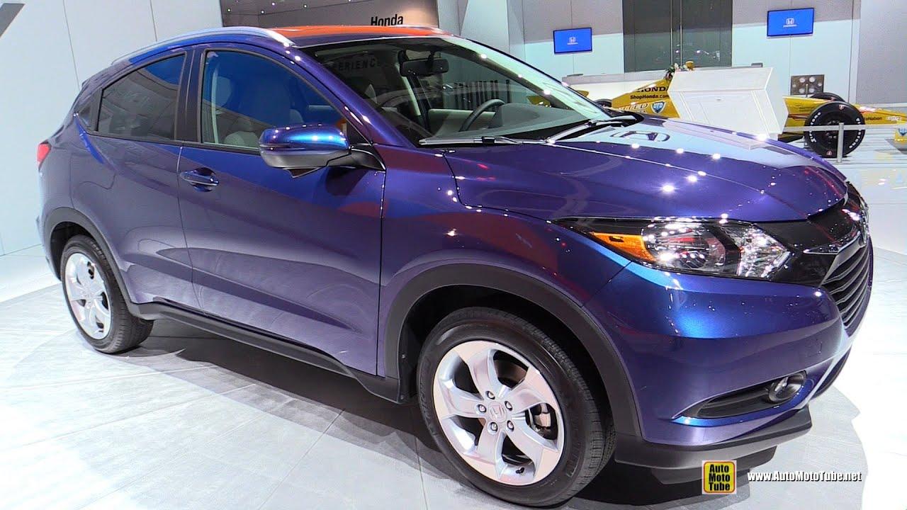 Awesome 2016 Honda HRV  Exterior And Interior Walkaround  Debut At 2014 LA