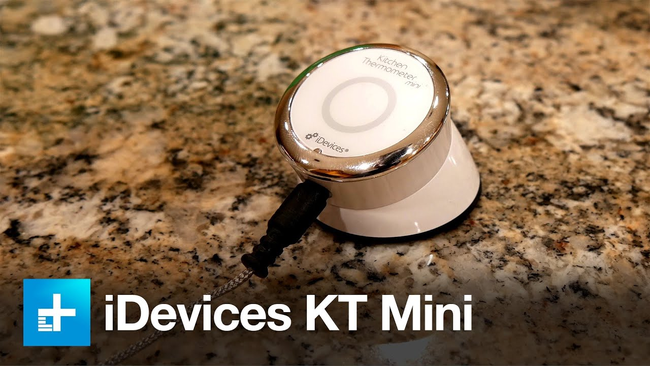 iDevices Kitchen Thermometer Mini - Review - YouTube