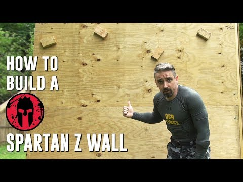 How To Build A Spartan Z Wall Obstacle