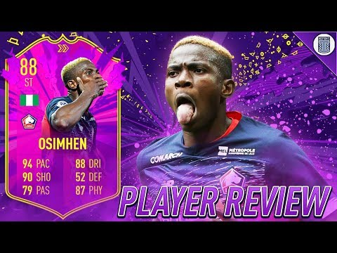 FULLY UPGRADED 88 FUTURE STAR ACADEMY VICTOR OSIMHEN PLAYER REVIEW! - FIFA 20 ULTIMATE TEAM