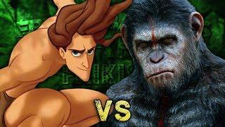 Tarzán vs César. Épicas Batallas de Rap del Frikismo ¡Bonus! | Keyblade