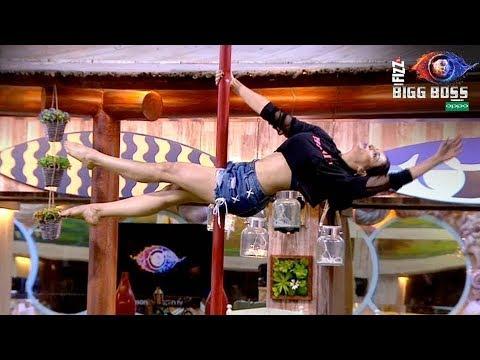 Bigg Boss 12 | Nehha Pendse Amazing Pole Dance | नेहा पेंडसे का पोल डांस | BB 12 Weekend Ka Vaar thumbnail