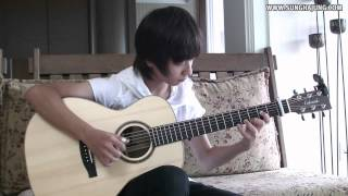 ABBA) The Winner Takes It all   Sungha Jung Acoustic Tabs Guitar Pro 6