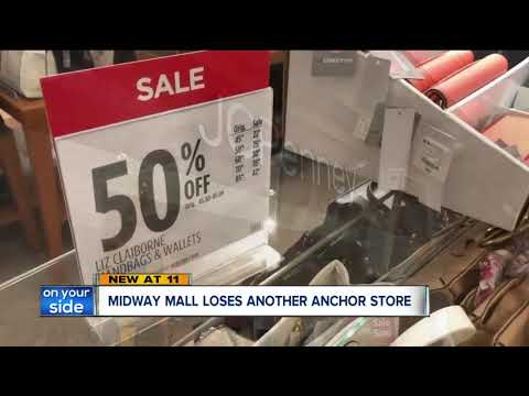 JCPenney announces Midway Mall store will be closing