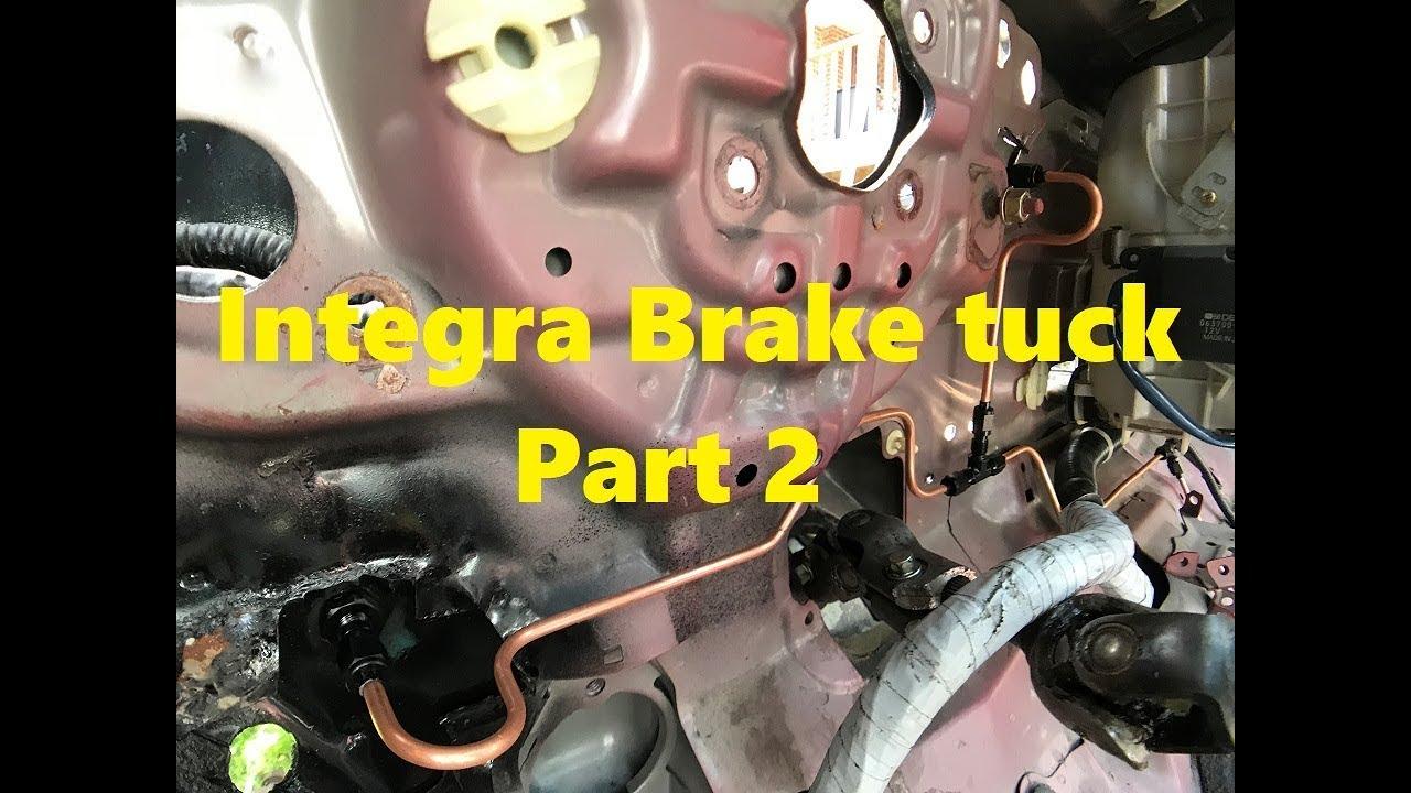 Integra brake tuck part 2