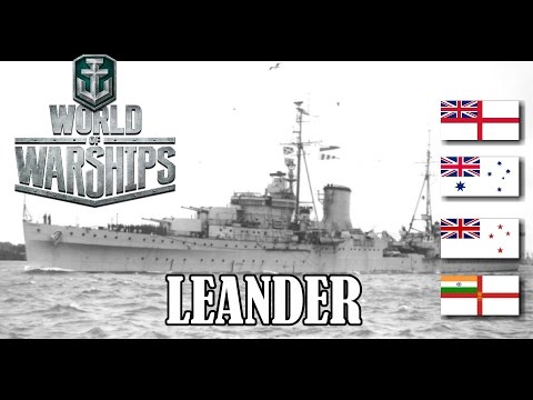 World of Warships - Leander