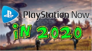 Trying Playstation Now in 2020