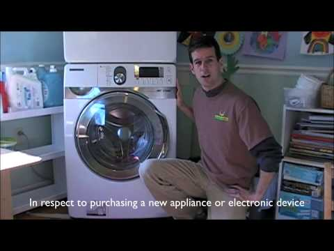 Why purchase an Energy Star Washing Machine NJ Rebate cash for Appliances