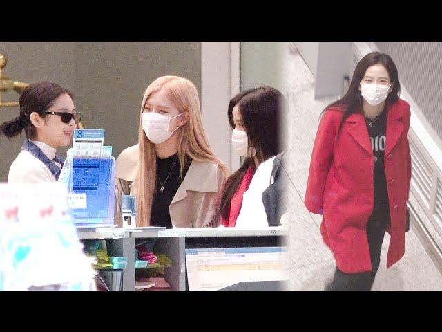 200221 블랙핑크(BLACKPINK) 출국|인천공항 · 비몽