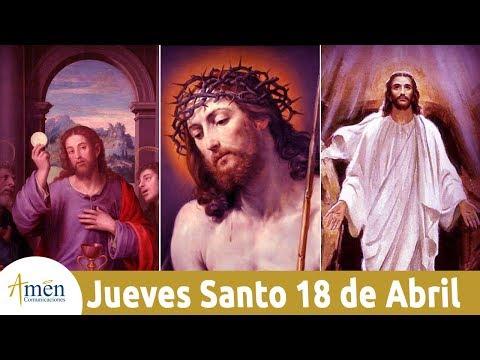 Celebración Solemne en la Cena del Señor - Jueves 18 de Abril de 2019 - Padre Mariusz Maka
