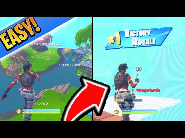 How To Win A Game Of Fortnite Season 8 How To Win Sweaty Lobbies In Season 8 Fortnite Season 8 Best Tips And Tricks Battle Royale Youtube