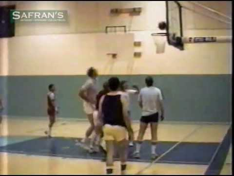 1988 Pistol Pete Maravich Last Basketball Shot ~ LSU Tigers - NBA - Hall of Fame