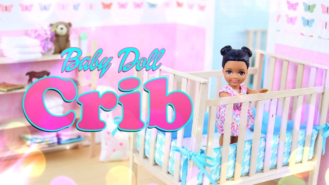 Diy How To Make Baby Doll Crib Handmade Furniture Craft 4k