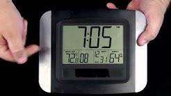 WT-8029U Solar Powered Atomic Wall Clock