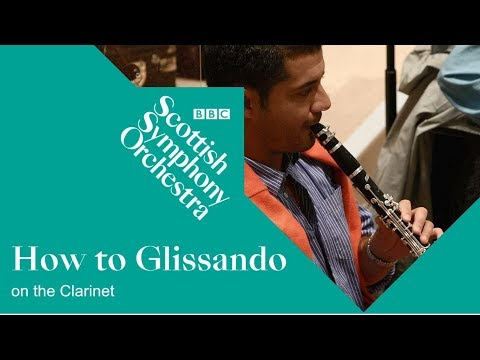 How to Glissando on the Clarinet / Rhapsody in Blue
