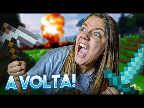 A VOLTA DO MINECRAFT! | Malena0202