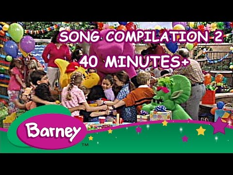 Barney  Song Compilation 2 40+ Minutes!