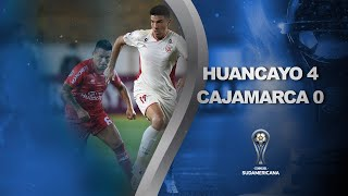 Sport Huancayo vs. UTC Cajamarca [4-0] | RESUMEN | Primera Fase | VUELTA | CONMEBOL Sudamericana