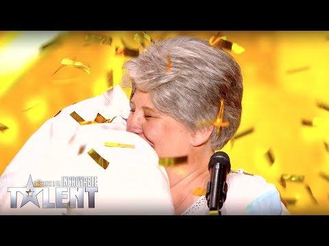Download Youtube: GOLDEN BUZZER ! Semi Final - CORINNE - France's Got Talent
