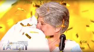 GOLDEN BUZZER ! Semi Final - CORINNE - France's Got Talent