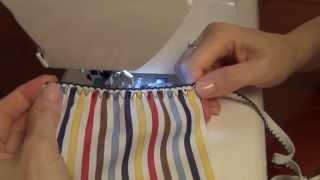 Как сшить шорты и юбки на резинке вместо пояса(В данном ролике рассмотрены ещё два варианта пошива юбок и шортов с резинкой вместо пояса. На этот раз мы..., 2013-06-27T12:42:33.000Z)