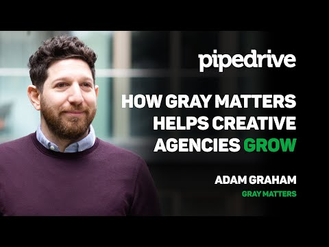 How Gray Matters Helps Creative Agencies Grow | Pipedrive Case Study