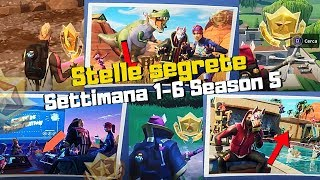STELLE SEGRETE DI #FORTNITE - Settimana 1-6 Season 5