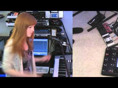 I Need Air Magnetic Man   Josie Charlwood  using BOSS RC30 loopstation