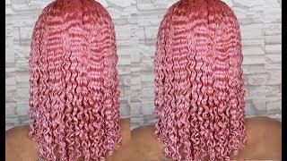 DYING MY HAIR PINK   NATURAL HAIR