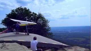 12 Year Old Boy Hang Gliding at Lookout Mountain