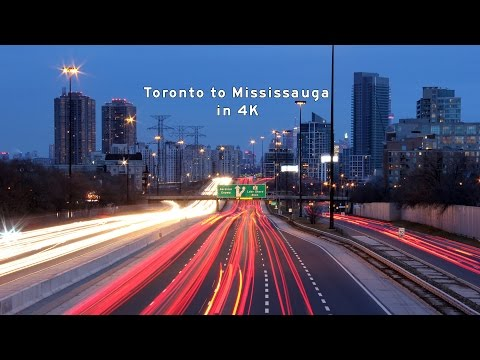 2017/05/10 - Toronto to Mississauga in 4K