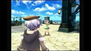 Rune Factory Tides of Destiny Gameplay(Sonja-018):Dating to Bismark(All seasons).