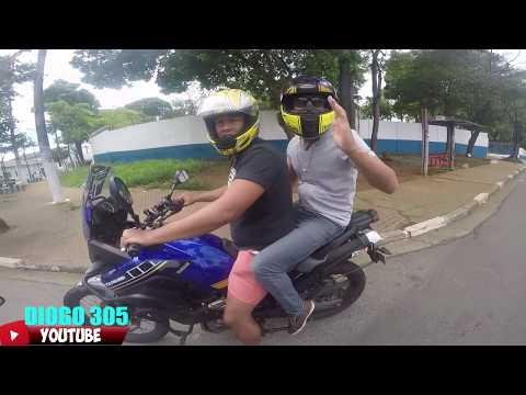 ASSALTARAM  O LUCAS MOTOVLOG EM SÃO PAULO !? DIOGO 305