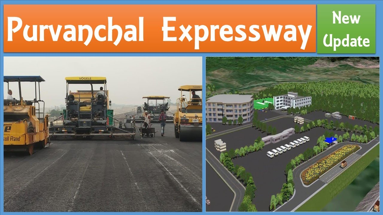 Purvanchal Expressway New Update | Way side ammenities in Lucknow-Ghazipur-Ballia Expressway