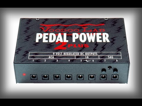 Voodoo Labs Power Pedal 2 + (Plus) Overview & First Impressions Review