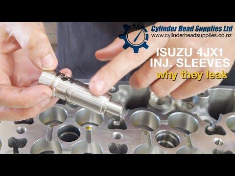 ISUZU 4JX1 injector sleeves. why they leak. 3.0 diesel 4JX1