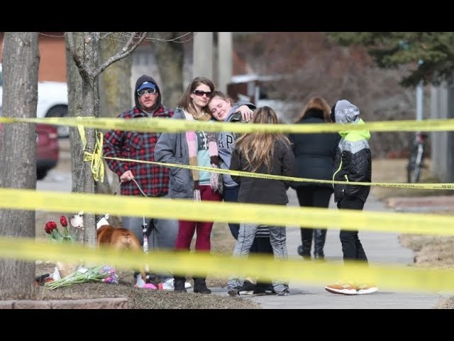 A 39-year-old woman and her 15-year-old son were found dead in an Ajax home Wednesday. Her 13-year-old daughter was also found in the home with life-threatening injuries. She later died in hospital.