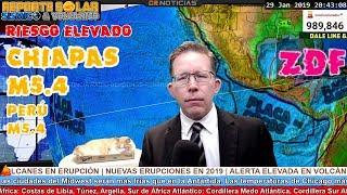 M5.4 CHIAPAS - FUE UN M6.0 Y UN M5.1 EN OAXACA  - PELIGRA ZDF  - WTF! PERU ¿M9.9?   SOCAVON EN CHILE