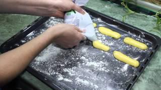 видео готовим дома эклеры